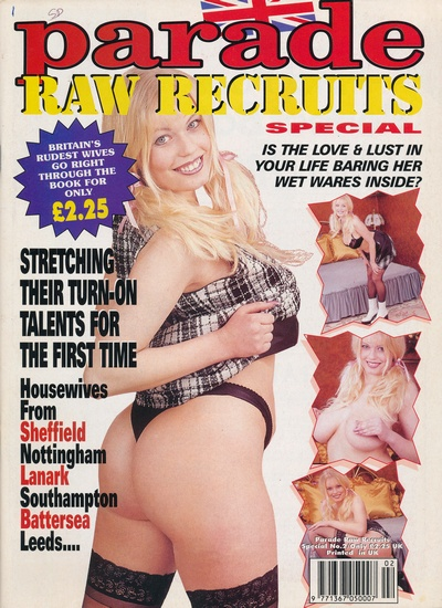 Front cover of Parade Raw Recruits 2 magazine
