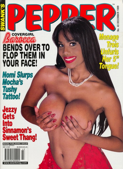 Front cover of Pepper December 1999 magazine