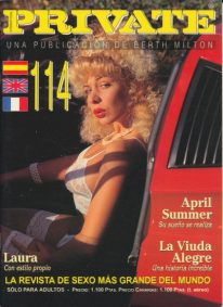 Front cover of Private 114 magazine