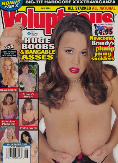 Front cover of Voluptuous June 2003 magazine