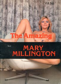 Front cover of The Amazing Mary Millington No 2 magazine