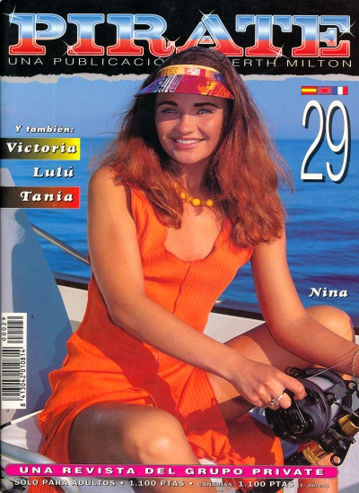 Front cover of Pirate 29 magazine