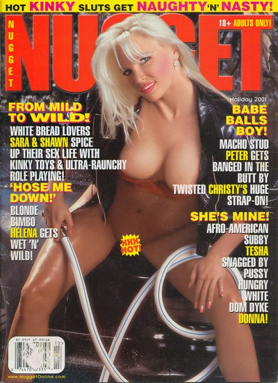 Front cover of Nugget Holiday 2001 magazine