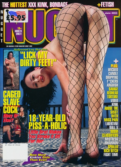 Front cover of Nugget June 2004 magazine