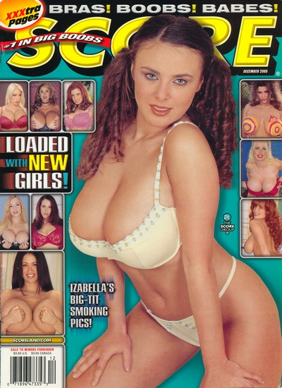 Front cover of Score December 2005 magazine