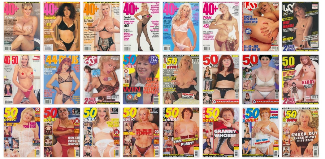 Mature adult magazine gallery