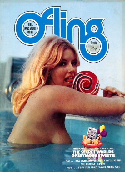 Front cover of Fling Vol 14 No 6 magazine