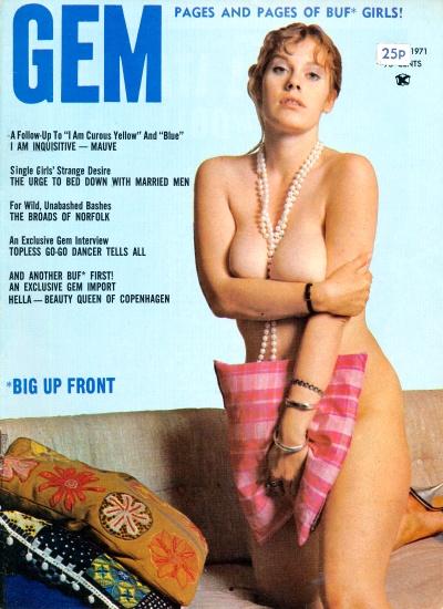 Front cover of Gem Vol 12 No 6 magazine