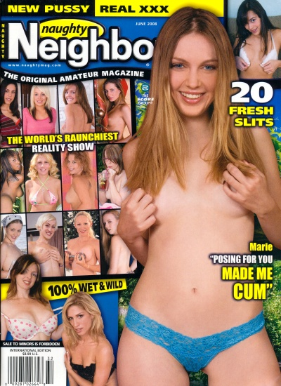 Front cover of Naughty Neighbours June 2008 magazine