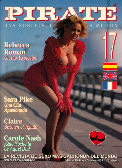 Front cover of Pirate 17 magazine