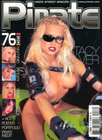 Front cover of Pirate 76 magazine