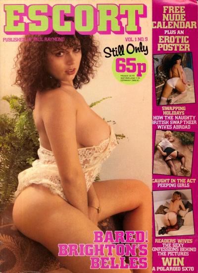 Front cover of Escort Volume 1 No 9 magazine