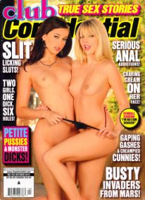 Front cover of Club Confidential October 2012 magazine