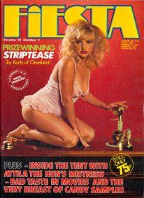 Front cover of Fiesta Volume 18 No 1 magazine