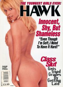 Front cover of Hawk January 1996 magazine