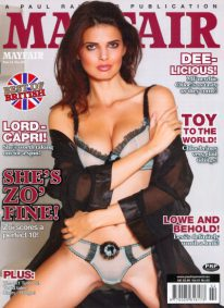 Front cover of Mayfair Volume 51 Number 2 magazine