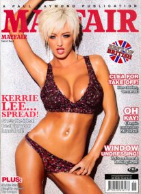 Front cover of Mayfair Volume 52 Number 1 magazine