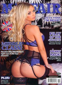 Front cover of Mayfair Volume 52 Number 10 magazine