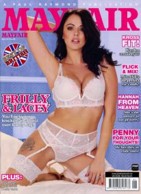 Front cover of Mayfair Volume 54 Number 1 magazine