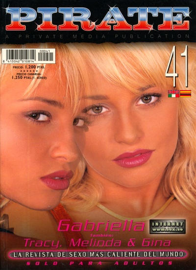 Front cover of Pirate 41 magazine