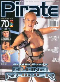 Front cover of Pirate 70 magazine