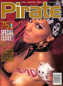 Front cover of Pirate 75 magazine