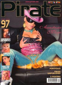 Front cover of Pirate 97 magazine