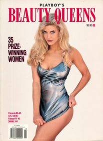 Front cover of Playboy's Beauty Queens October 1994 magazine