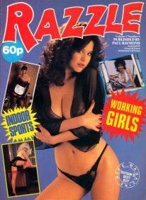 Front cover of Razzle Volume 02 No 6 magazine