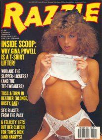 Front cover of Razzle Volume 06 No 1 magazine