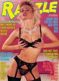 Front cover of Razzle Volume 7 No 4 magazine