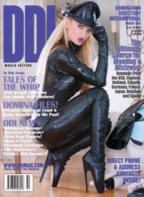 Front cover of Domination Directory International 54 magazine