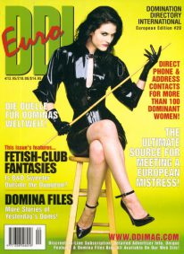 Front cover of Domination Directory International 20 magazine