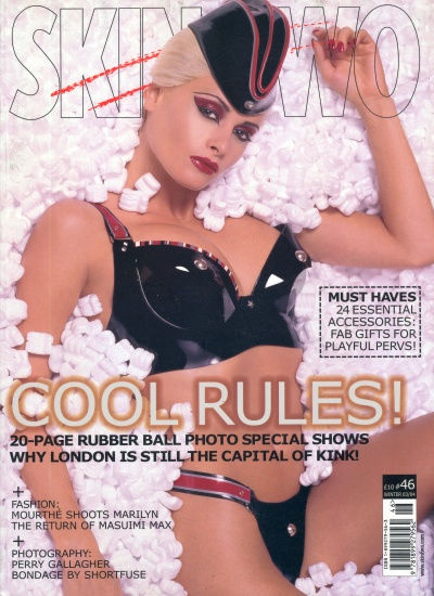 Front cover of Skin Two Issue 46 magazine