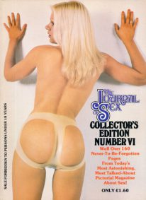 Front cover of The Journal of Sex Collectors Edition No 6 magazine