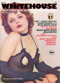Front cover of Whitehouse No 32 magazine