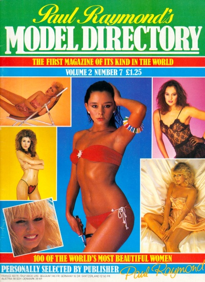 Front cover of Model Directory Volume 2 No 7 magazine