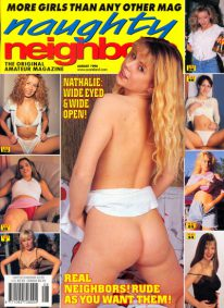 Front cover of Naughty Neighbors August 1998 magazine