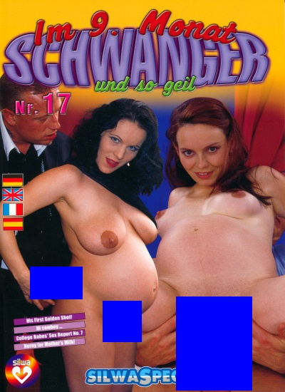Front cover of 9 Months Schwanger magazine