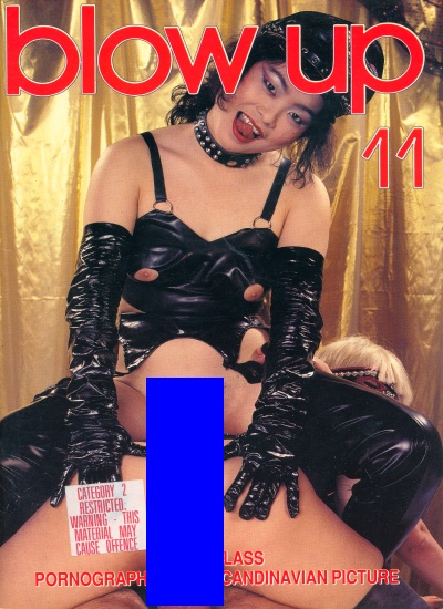 Front cover of Blow Up No 11 magazine