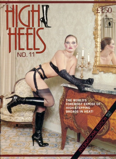 Front cover of High Heels 11 magazine