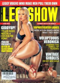 Front cover of Leg Show June 2005 magazine