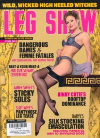 Front cover of Leg Show October 2005 magazine