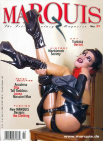 Front cover of Marquis No 27 magazine