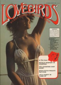 Front cover of Lovebirds No 46 magazine